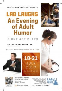 Lab Laughs: An Evening of Adult Humor: 3 One Act Plays @ Stageworks Theatre