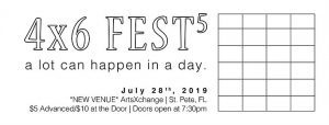 5th Annual 4x6 FEST @ ArtsXchange in the Warehouse Arts District