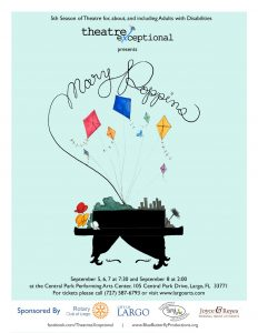 Theatre eXceptional presents Mary Poppins @ Central Park Performing Arts Center